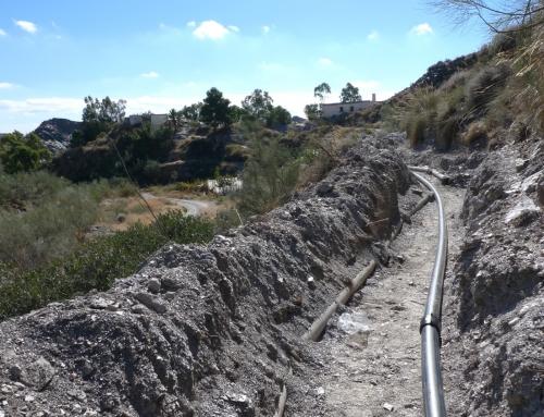 Sanierung Wasserleitung 2010
